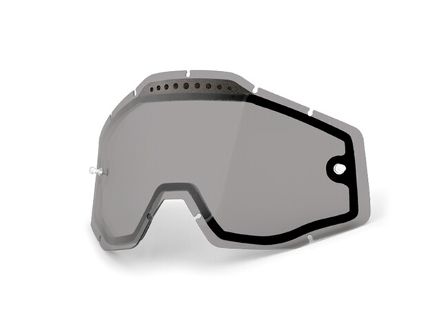 100% Vented Dual Replacement Lenses dual smoke / clear
